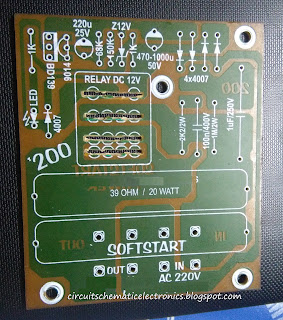PCB Soft Start for electronic device