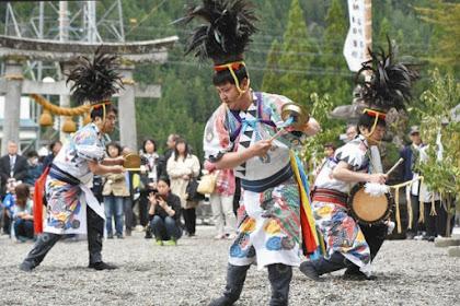 播隆祭北アルプス飛騨側開山祭村上神社