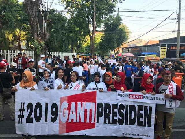 Diprediksi Sepi, Ini Foto dan Video Penampakan CFD #2019GantiPresiden