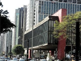 O Masp - Um dos Destaques da Avenida Paulista, em São Paulo