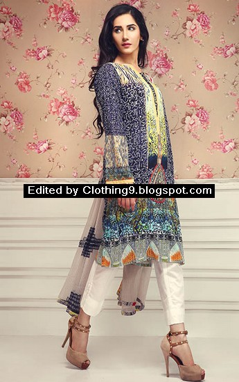 So-Kamal Embroidered Midsummer Dresses 2015