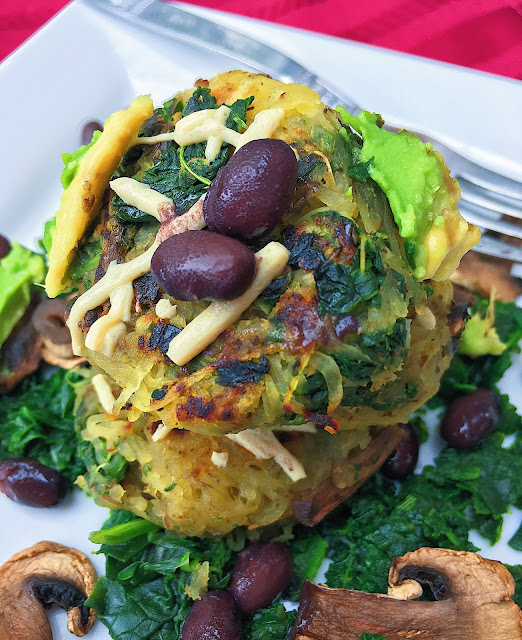 Southwestern Spaghetti Squash Hash Browns (Gluten Free, Vegan, Low Fodmap Friendly)