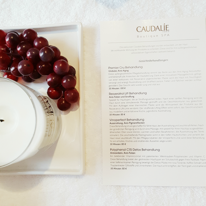 Caudalie - 1. Boutique SPA Opening in Düsseldorf - Behandlungen