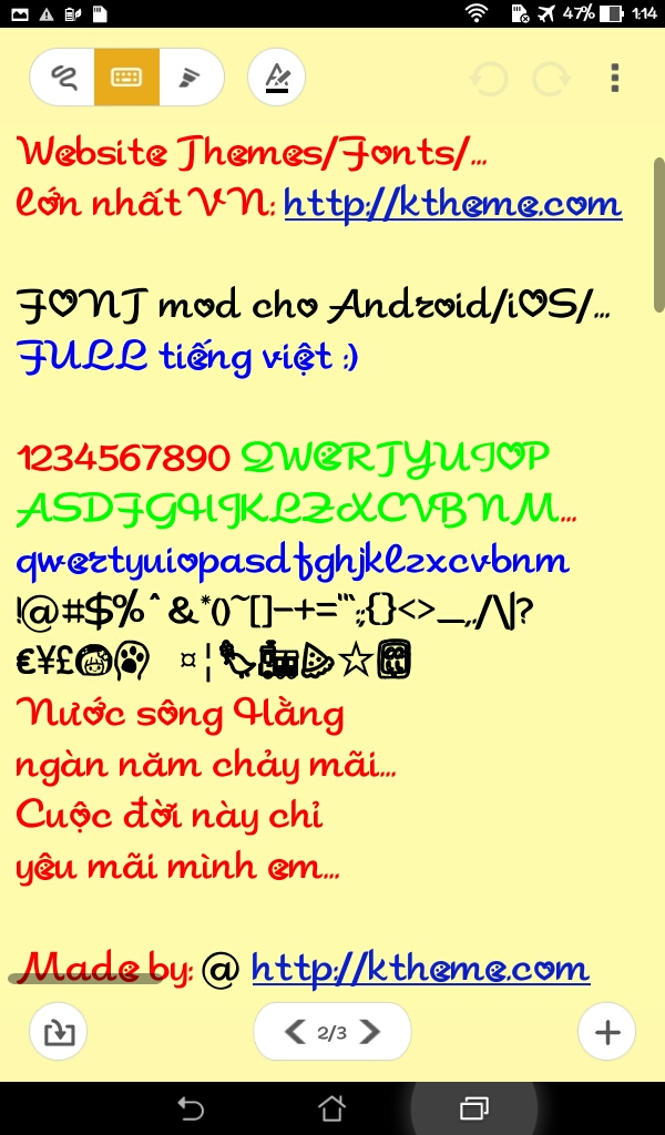 FONT Full Tiếng Việt cho Android   Tinhte vn