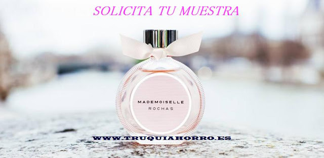 MUESTRA GRATIS PERFUME MADEMOISELLE DE ROCHAS