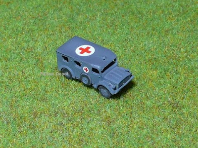 German Horch Kfz 31 Ambulance Car