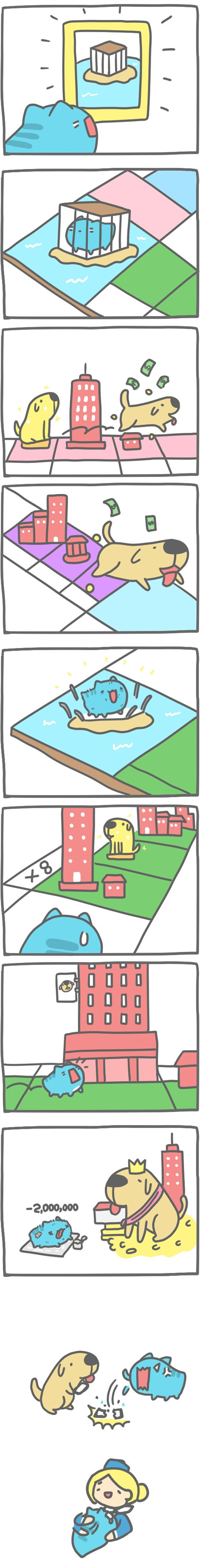 Truyện Mìn Lèo #113: Cờ tỷ phú