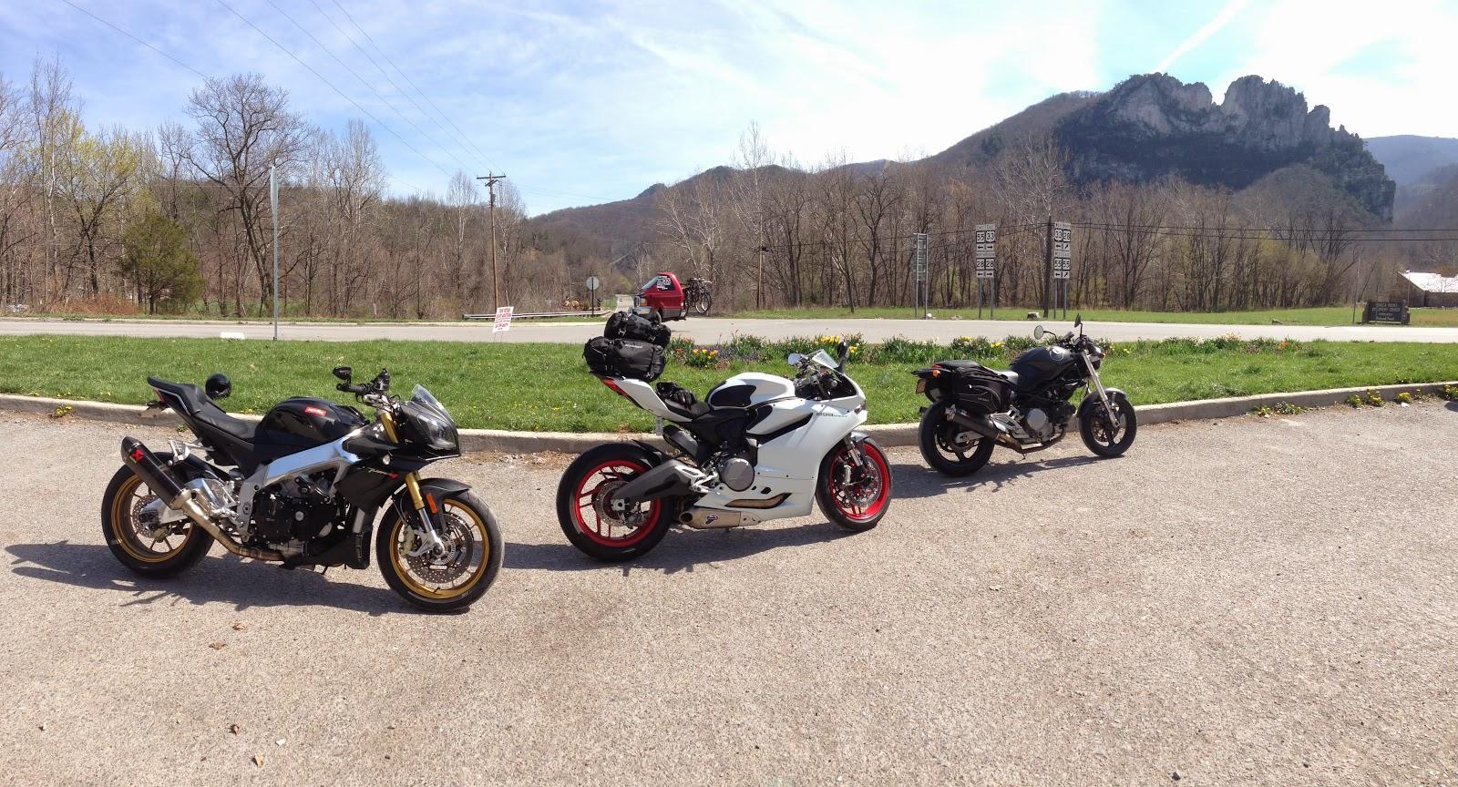 Tigho NYDucati: Cross Country USA on Italian Superbikes