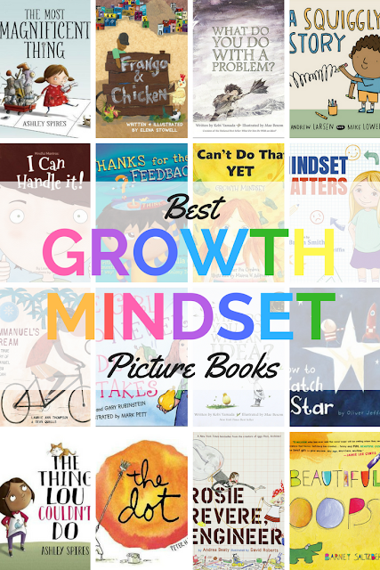 Best Growth Mindset Picture Books #growthmindset #grit #picturebooks
