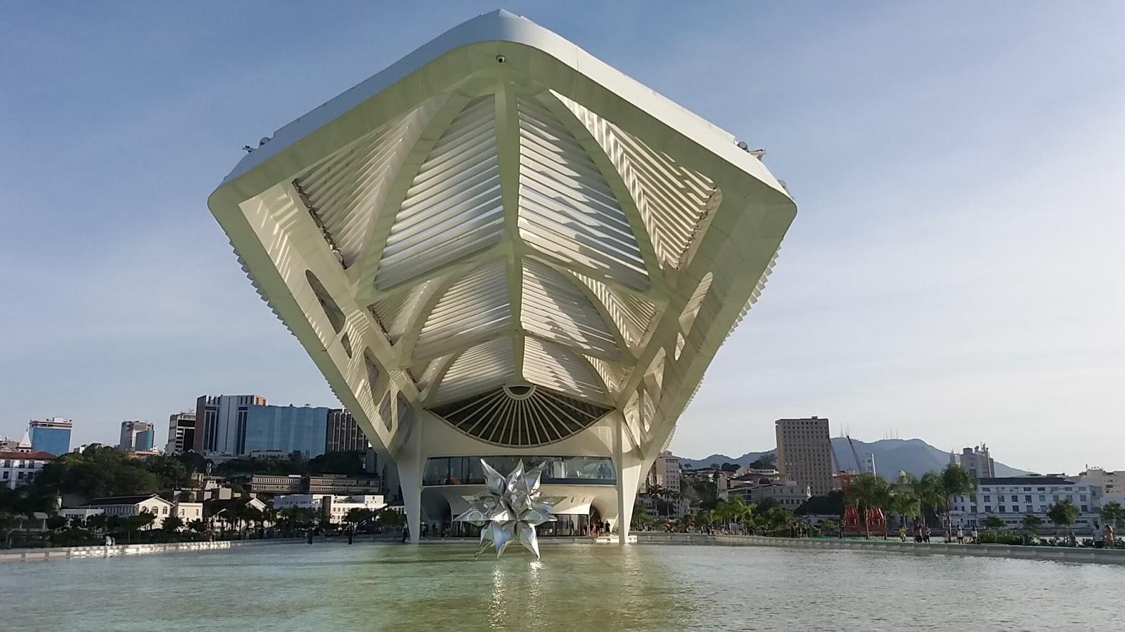 Museu do Amanhã, no Rio de Janeiro