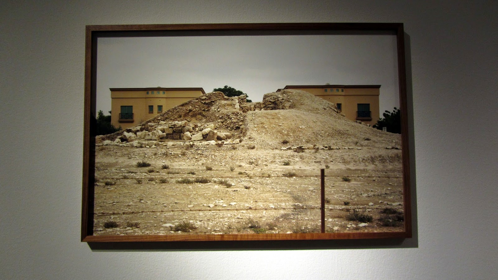 photograph of development Bahrain National Museum blog