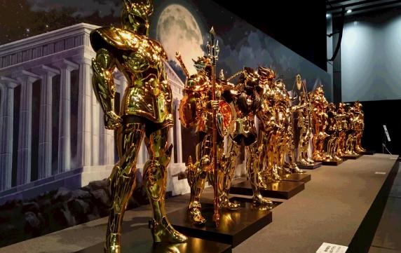 【必去】時代廣場開戰!聖鬥士星矢 30週年展