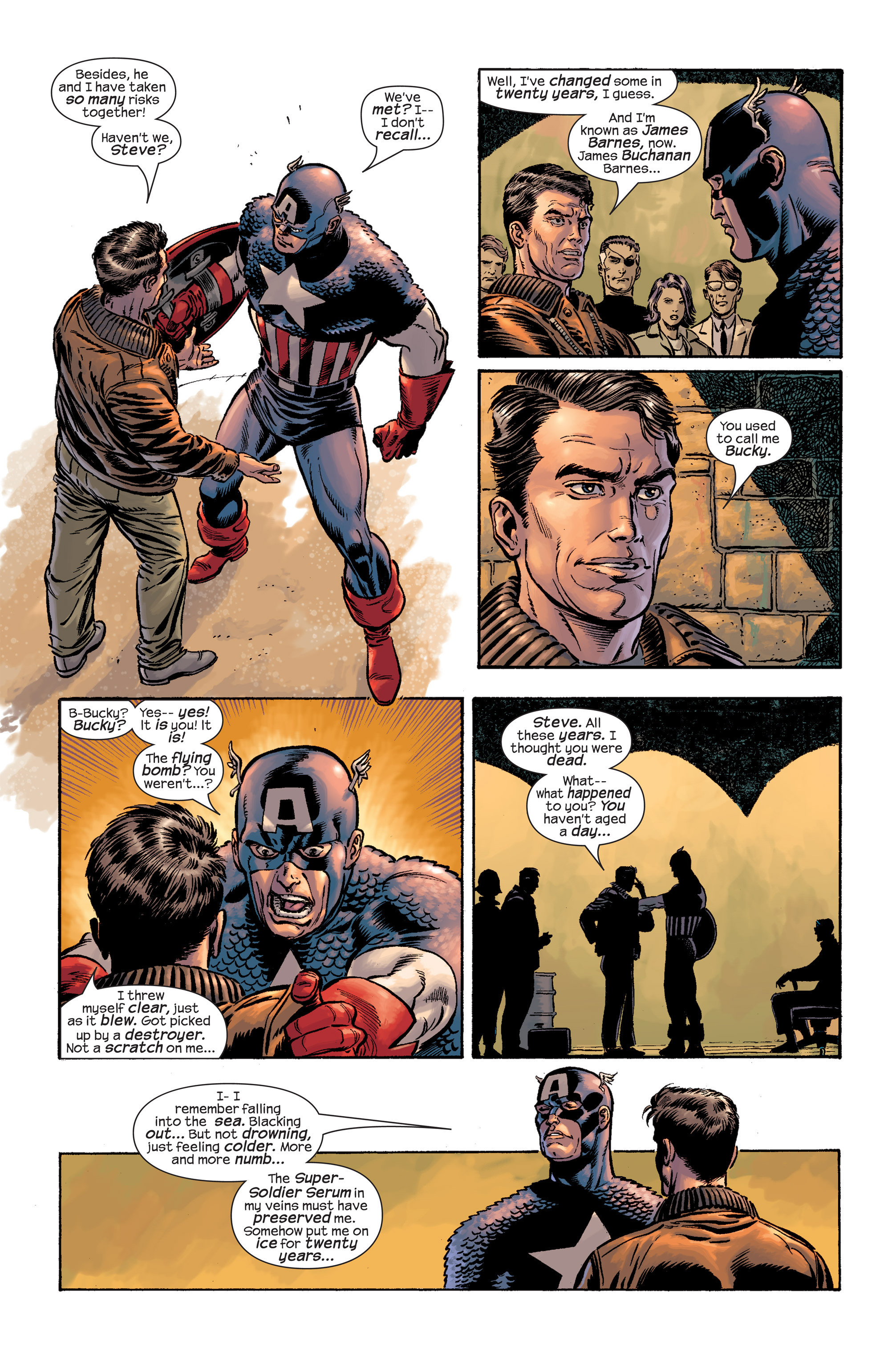 Captain America (2002) Issue #19 #20 - English 6