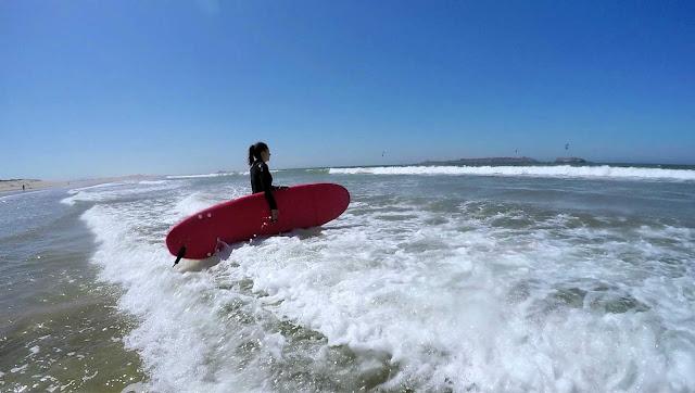 Surfing w Essaouira, Maroko