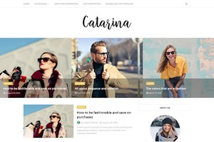 Catarina - Responsive Minimal Blogger Template