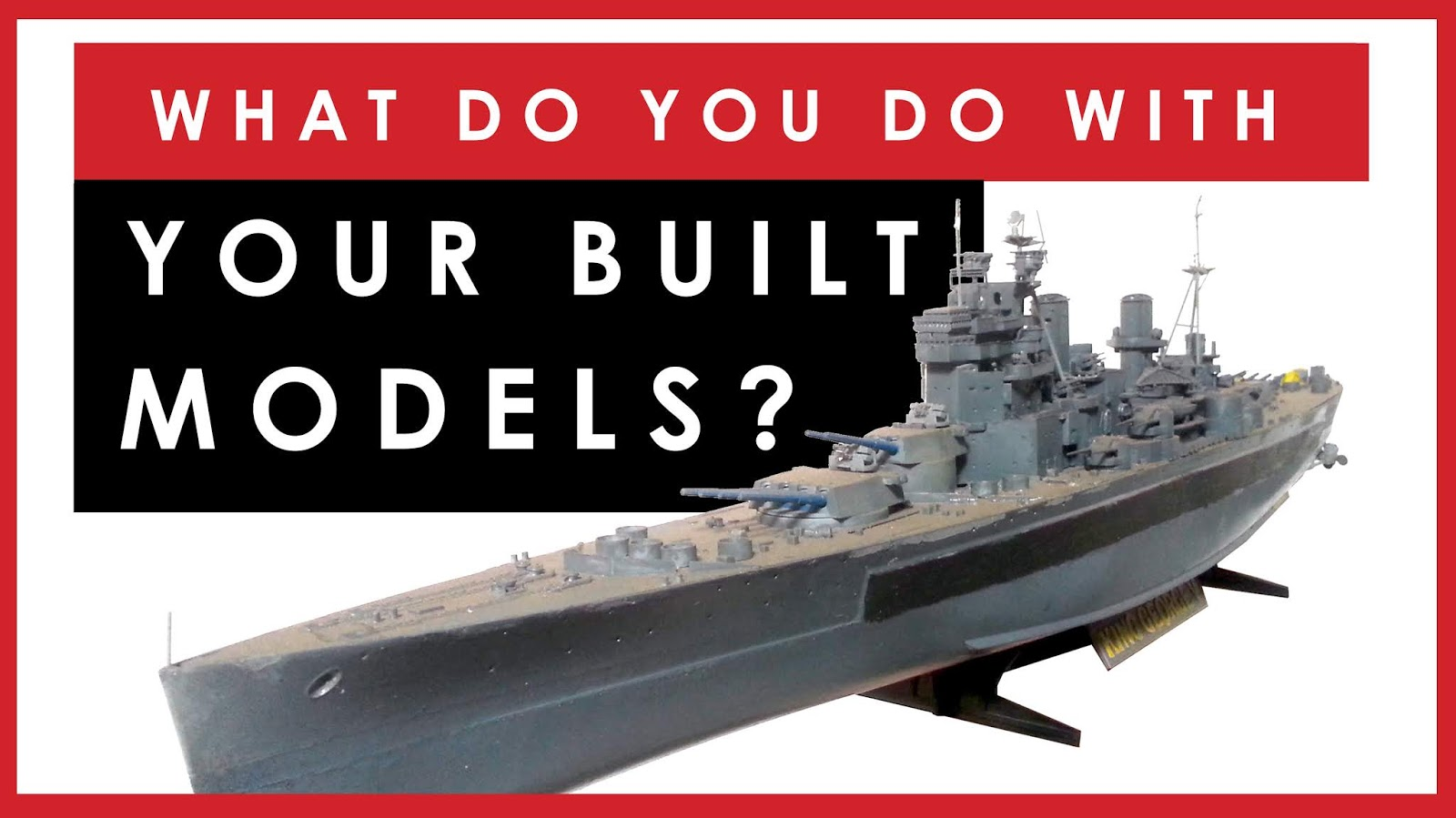 Dave's Model Workshop: New video: What do you do with all