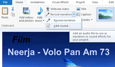 Aggiungere musica e voce su video Movie Maker