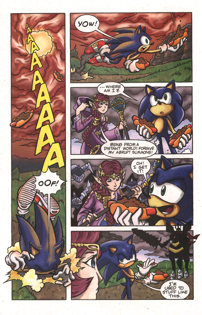 Read online Sonic The Hedgehog comic -  Issue #197 - 30