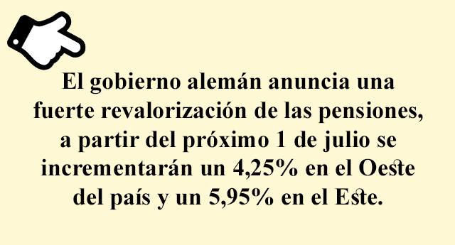 A pensionistas más ricos en Alemania, pensionistas más pobres en España