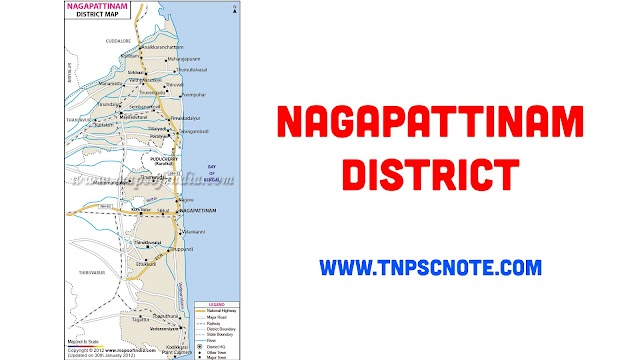 Nagapattinam District Information, Boundaries and History from Shankar IAS Academy