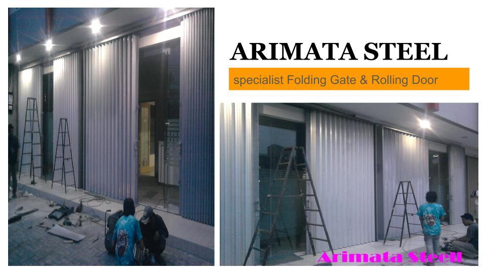 Harga Folding Gate Murah Dan Rolling Door Rp Per Meter