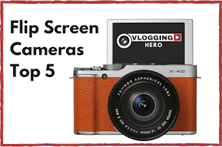best vlogging camera under 200 with flip screen