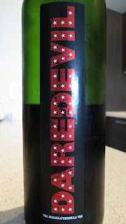 Wine review of 2011 Daredevil Cabernet