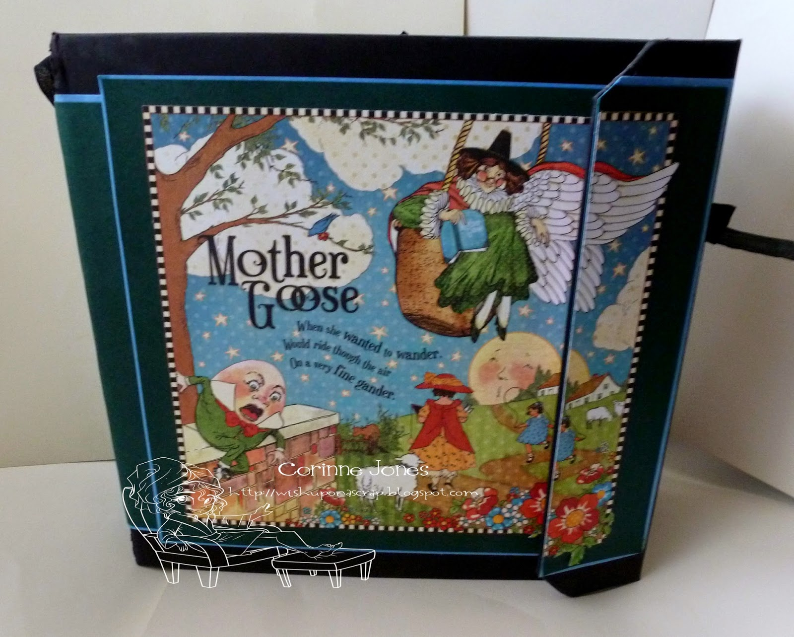 Mother Goose Book For Kathy Wish Upon A Scrap