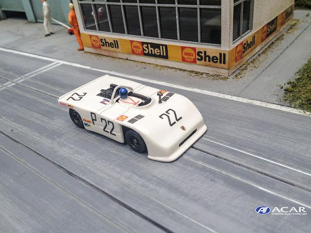 Porsche 908-03 1000km Nürburgring 1970 Siger Slotcar 1.64 AFX