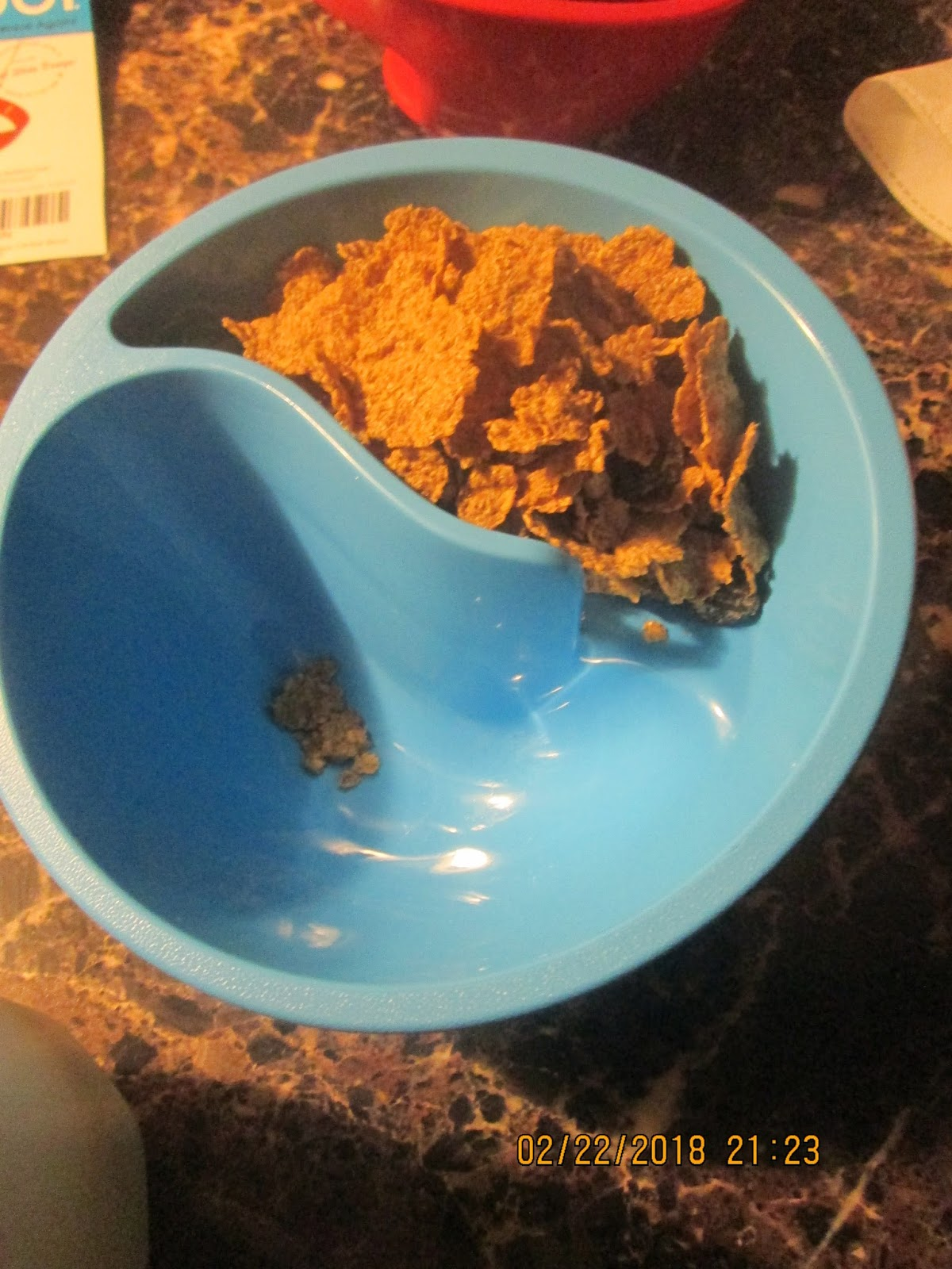 Little helpers in life obol review i chose to try my obol out with raisin bran because lets be honest here the bran gets soggy so fast though you can put some in the milk compartment ccuart Choice Image