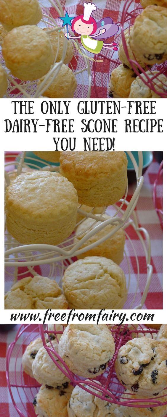 Perfect gluten free dairy free scones