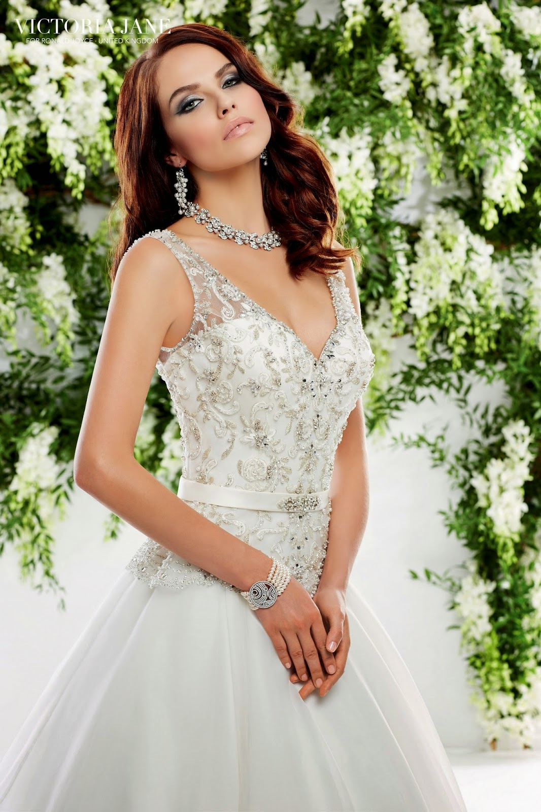 8b7f343b9e The Ronald Joyce Bridal collection for Spring 15 is strikingly beautiful.  Inspired by the glamorous 1930's and theatrical 20's era, this collection  ...