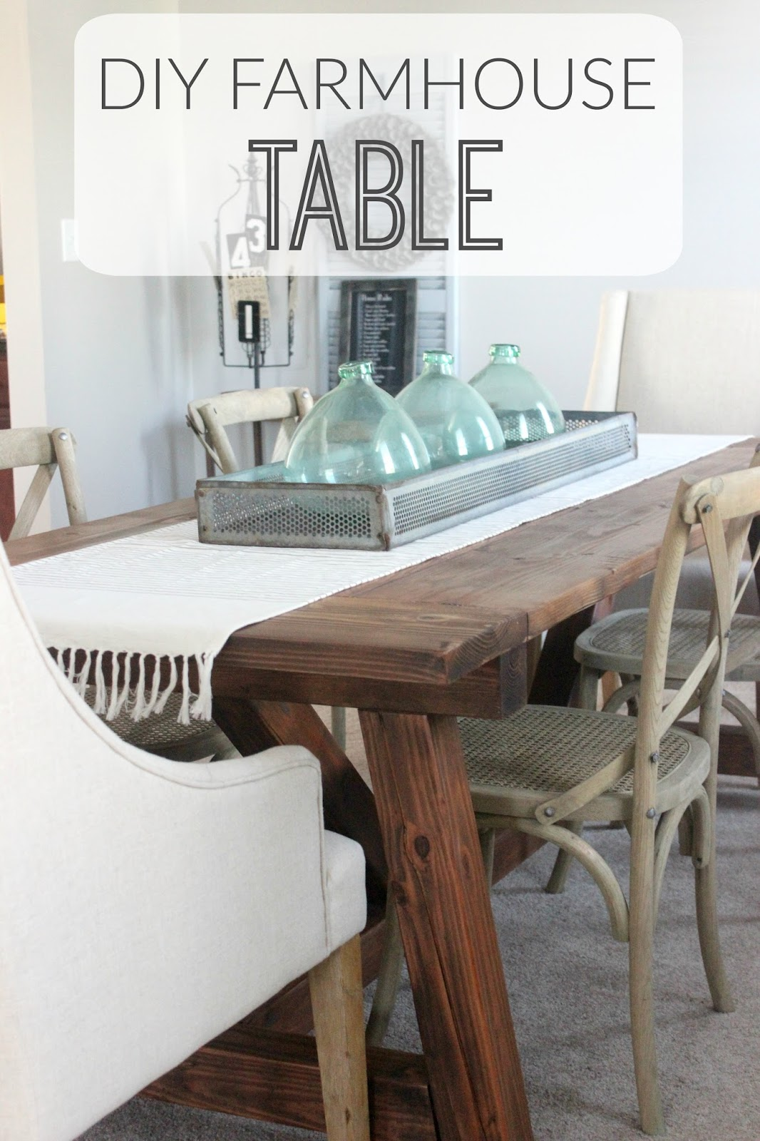 DIY Farmhouse Table Inspired By Restoration Hardware. Created With  Easy To Follow Ana