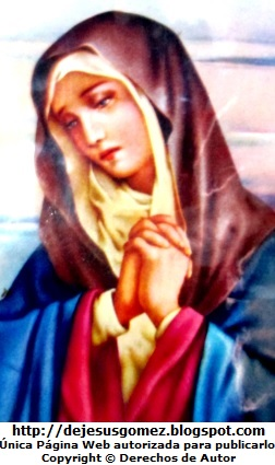 Imagen de la Virgen Dolorosa de Jesus Gómez