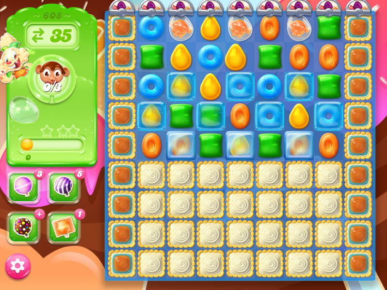 Candy Crush Jelly Saga level 608