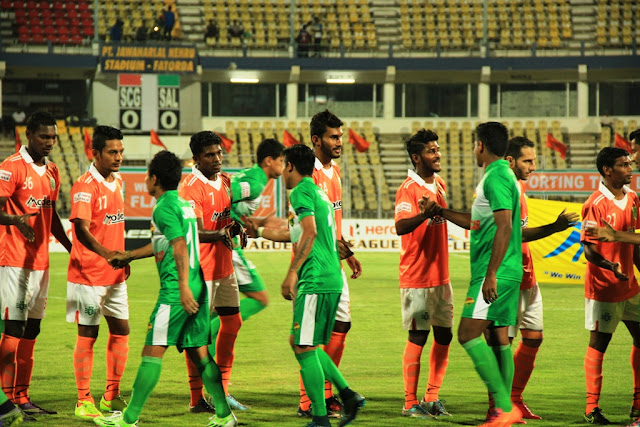 Salgaocar and Sporting out of I-League
