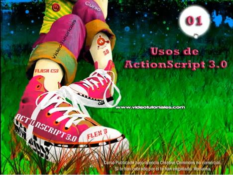 Curso de ActionScript 3.0, Flash CS3 y Flex 3 Online