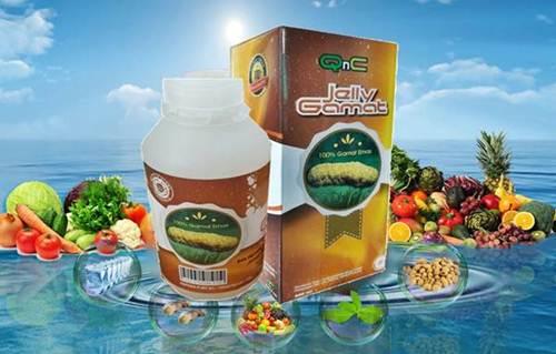 Obat Kaki Bengkak Herbal QnC Jelly Gamat