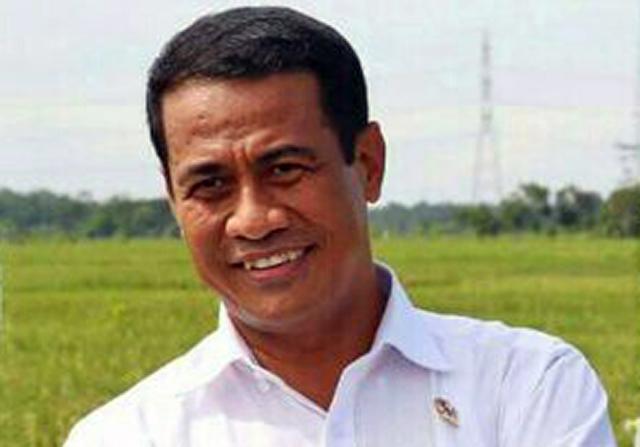 Terbang ke Kalimantan, Menteri Amran Batal Pulang Kampung
