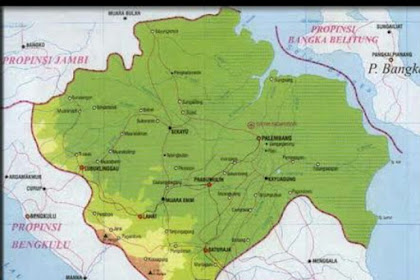 Inilah Kabupaten Terbesar dan Terpadat di Provinsi Sumatera Selatan Indonesia
