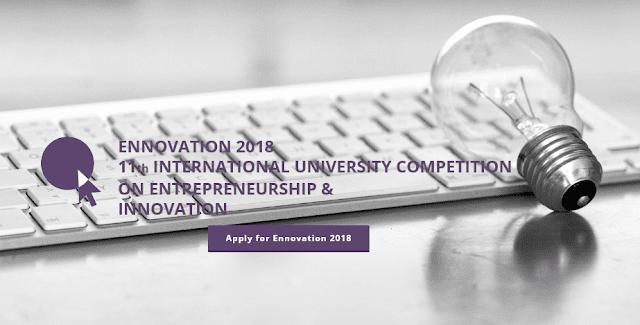 Ennovation 2018:  Διεθνής Φοιτητικός Διαγωνισμός Καινοτομίας και Επιχειρηματικότητας