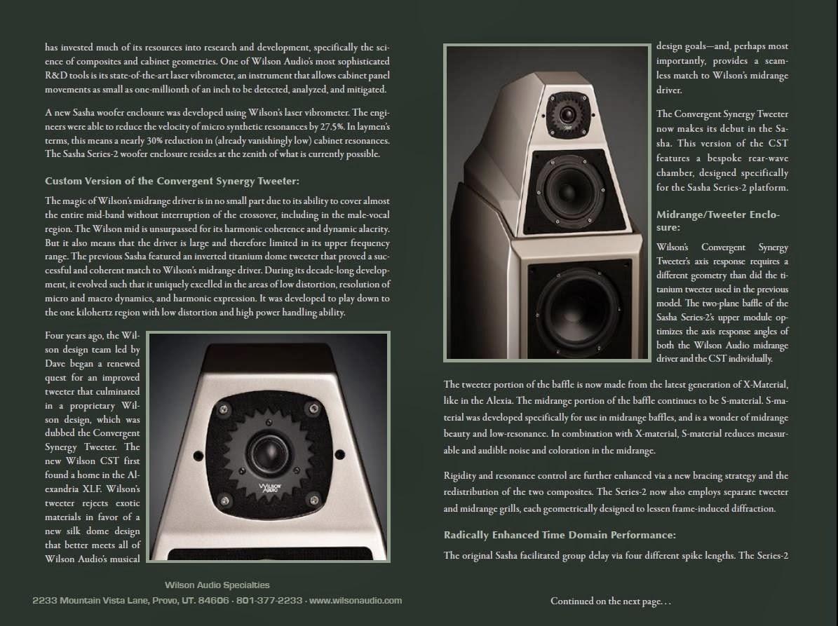 Mono and Stereo High-End Audio Magazine: Wilson Audio ...