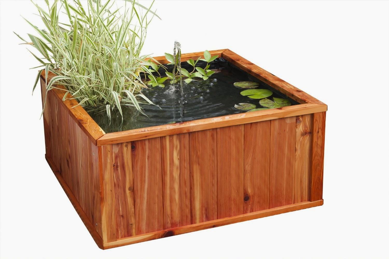 Bassins de jardin design et pas cher en bois, deco ...