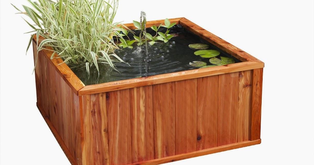 bassins de jardin design et pas cher en bois deco terrasse promotions 2018. Black Bedroom Furniture Sets. Home Design Ideas
