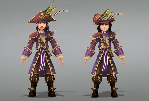 Pirate101 new class gear 2013