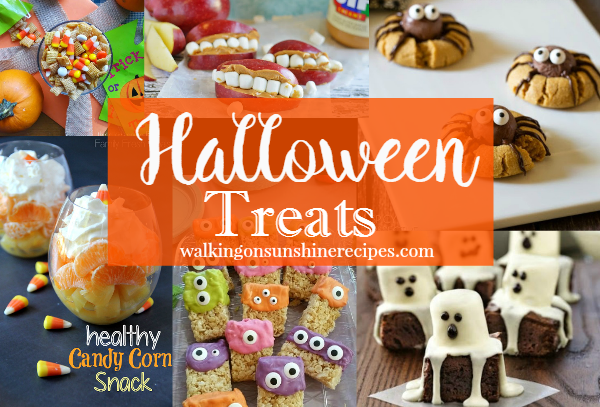 Halloween Food and Treats from Walking on Sunshine Recipes