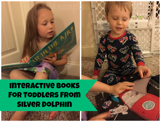 Interactive Books for Toddlers from Silver Dolphin + Giveaway