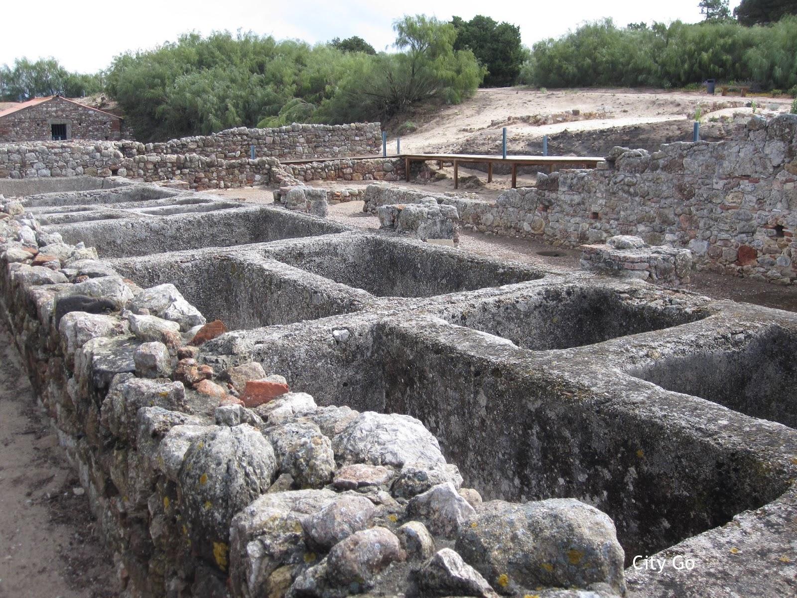 Roman Ruins of Troia, Setúbal, Portugal