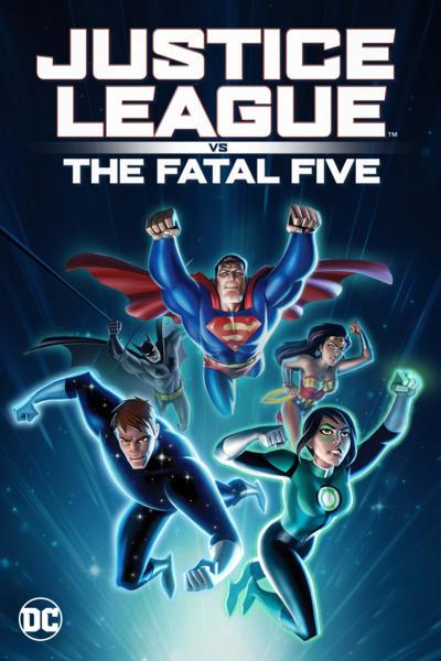 تحميل ومشاهدة فيلم Justice League vs the Fatal Five 2019 Web-dl مترجم