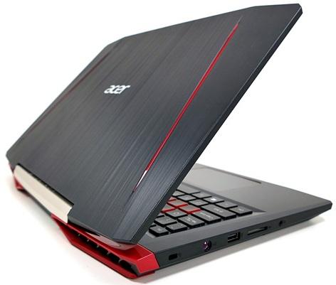 Acer Aspire VX15 591G-54F: diseño y panel